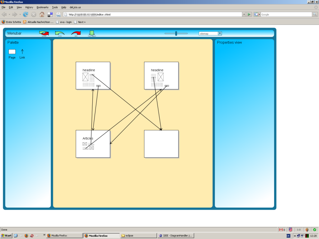 Pidoco's Screenflow View in 2007: Volker described this as his