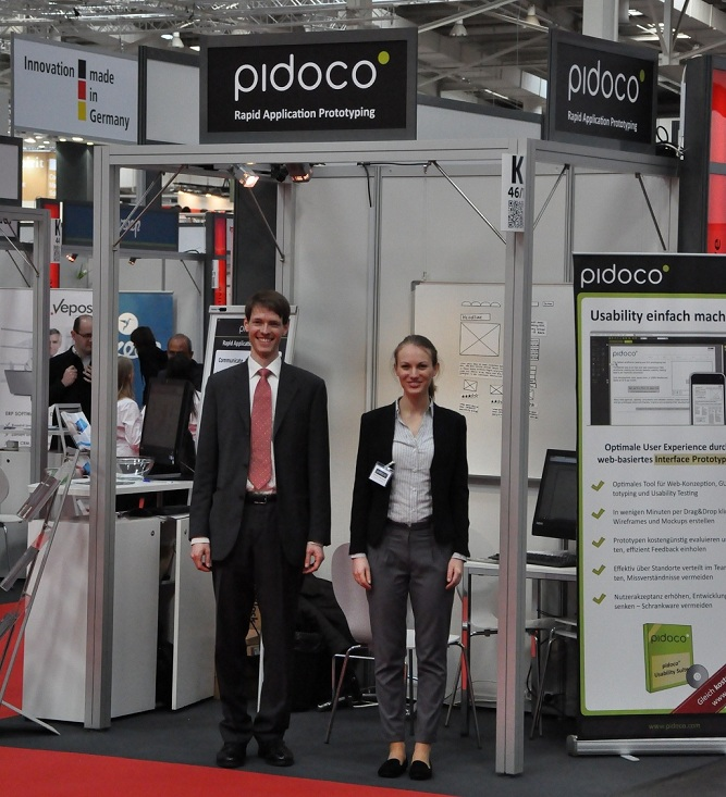 Pidoco Stand at CeBIT 2013