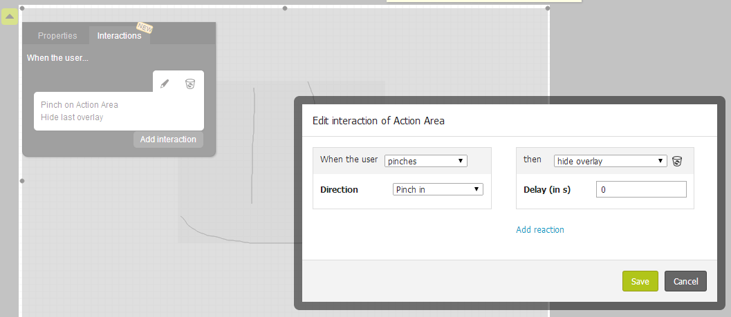 Add an Action Area