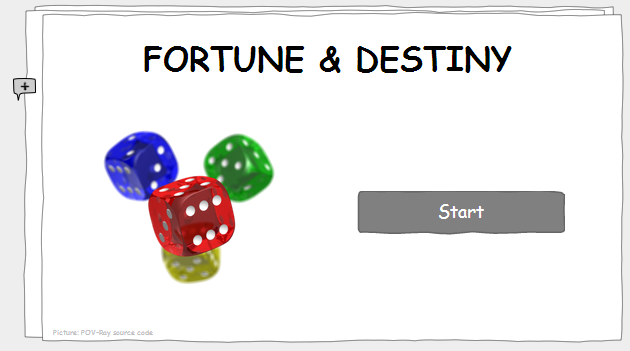 "Preview of my prototype ""Fortune & Destiny"""