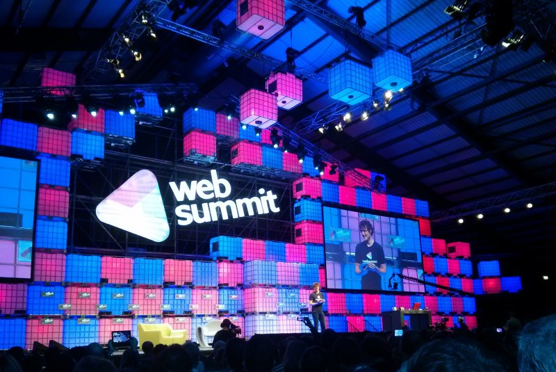 The Center Stage of the Web Summit.