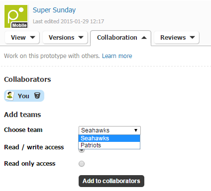 Collaborate with your team members