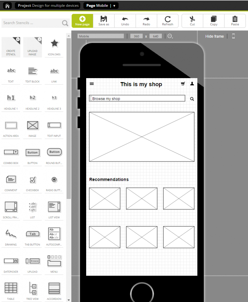 Step 5: Adjusting the desktop design to create a mobile version
