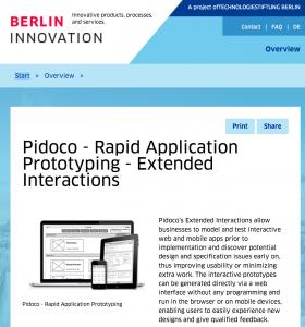 Pidoco in BERLIN INNOVATION